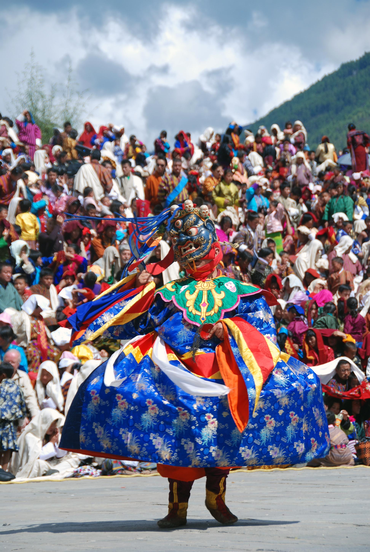 Bhutan Tshechu Festival