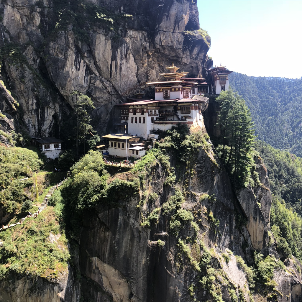 bhutan spot - the Tiger's Nest
